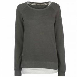 Ladies sweatshirt dark grey