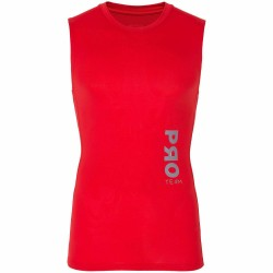 BASELAYER TANK TOP RED ALLOVER