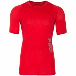 BASELAYER T-SHIRT RED ALLOVER