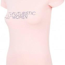 WOMEN'S T-SHIRT LIGHT PINK