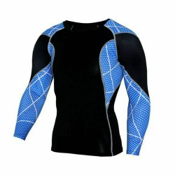 Compression Shirt Long Sleeve Tee Sport Tops Tights