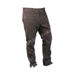 Leather Hunting Nubuck Buffalo Pants