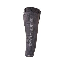 leather hunting knicker in buffalo leather