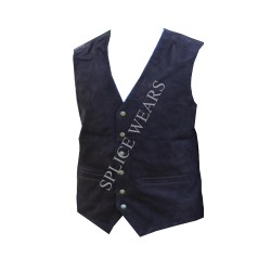 LEATHER HUNTING VESTS IN BUFFALO LEATHER